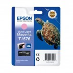 Originale Epson inkjet cart.A.R. ink pigm. tart-tag. XL T1576 -25,9 ml-magenta chiaro vivido-C13T15764010