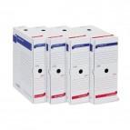 Scatola archivio Memory X120 - 25x35 cm - dorso 12 cm - bianco - Sei Rota
