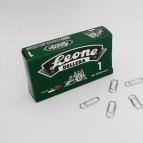 Fermagli zincati N.1 - lunghezza 20 mm - Molho Leone - conf. 100 pezzi