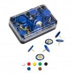 Puntine Inflex - blu - Molho Leone - conf. 50 pezzi