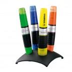Evidenziatore Stabilo Luminator - punta a scalpello - tratto 2,0-5,0mm - set 4 colori - Stabilo