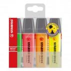 Astuccio in plastica evidenziatori BOSS® ORIGINAL - assortiti - 2-5 mm - 70/4-1 (conf.4)