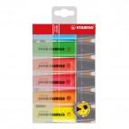 Astuccio in plastica evidenziatori BOSS® ORIGINAL - assortiti - 2-5 mm - 70/6 (conf.6)
