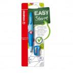 Portamine Easyergo - 3,15mm - per destrosi + affilamine - azzurro - Stabilo