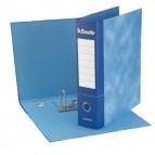 Registratore Essentials G75 - dorso 8 cm - protocollo 23x33 cm - blu - Esselte