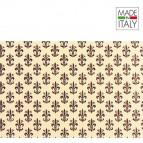 Rotolo Cartarivesto Rex 58 - 50x500 cm - lavabile - giglio marrone - Rex Sadoch