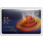 Busta PPL porta carta di credito Durable - 1 - extra resistente - 54x86mm - 2136-19 (conf.10)