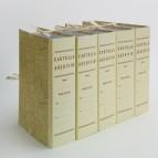 Faldone - legacci incollati - juta - 35x25 cm - dorso 15 cm - paglia - Brefiocart