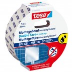 Nastro biadesivo per specchi Tesa® Powerbond - 5 mt x 38 mm - bianco - Tesa®