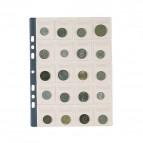 Buste portamonete Favorit - 20 tasche - 20 - numismatica - 22,5x30 cm - trasparente - 100500066 (conf.10)
