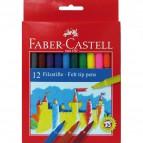 Pennarelli FIESTA STANDARD Faber Castell - 0,7 mm - 6+ - 554212 (conf.12)