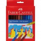 Pennarelli FIESTA STANDARD Faber Castell - 0,7 mm - 6+ - 554224 (conf.24)