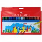 Pennarelli FIESTA STANDARD Faber Castell - 0,7 mm - 6+ - 554250 (conf.50)