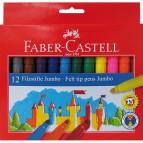 Pennarelli CASTELLO Faber Castell - 1,3 mm - 3+ - 554312 (conf.12)