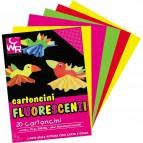 Cartoncino Fluorescente CWR - 50x70 cm - Assortiti - 2150/10 (conf.10)