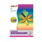 Cartoncino arcobaleno alto spessore CWR - 50x70 cm - Assortiti - 05433 (conf.10)