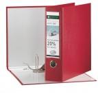 Registratore Leitz 180° G63 - dorso 8 cm - commerciale 23x30 cm - rosso - Leitz