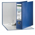 Registratore Leitz 180° G65 - dorso 8 cm - protocollo 23x33 cm - blu - Leitz