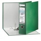 Registratore Leitz 180° G65 - dorso 8 cm - protocollo 23x33 cm - verde - Leitz