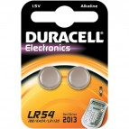 Pile Duracell Specialistiche - Bottone - LR54 - LR54 LR1130 (conf.2)