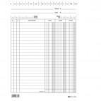 Schede in cartoncino dare/avere/saldo - 21 x 15 cm - Edipro - conf. 100 pezzi