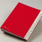 Classificatore numerico 1/31 - 643D - 24x34 cm - blu - Fraschini