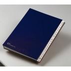 Classificatore alfabetico A/Z - 640E - 24x34 cm - blu - Fraschini