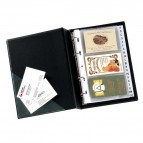 Portabiglietti Minivisita MC 25 - 16x20,5 cm - 240 biglietti - nero - Sei Rota