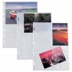 Buste forate Atla F porta foto - 4 spazi 13x18 cm - trasparente - Sei Rota - conf. 10 pezzi