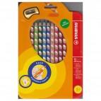 Pastelli colorati Easycolors - Ø mina 4,20mm - per mancini - Stabilo - astuccio 12 colori