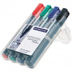 Marcatore Lumocolor® Permanent Staedtler - assortiti - tonda - 2 mm - 352 WP4 (conf.4)