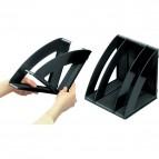 Portariviste modulare Confort CEP - nero - 675 nero