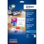 Biglietti visita Quick&Clean™Avery -Inkjet-fronte-retro-bianco glossy-240 g/mq-C32028-25 (conf.200)