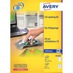 Kit per personalizzazione CD/DVD Avery - AB1800
