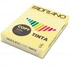 Carta Copy Tinta - A3 - 80 gr - colore tenue banana - Fabriano - conf. 250 fogli