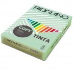 Carta Copy Tinta - A3 - 80 gr - colore tenue verde chiaro - Fabriano - conf. 250 fogli