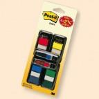 Segnapagina Post-it® Index + 48 Mini Freccia - 4 colori classici - conf. 200 pezzi