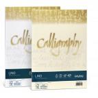 Carta Calligraphy Lino - A4 - 120 gr - bianco 01 - Favini - conf. 50 fogli