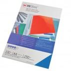 Copertine HiGloss™ per rilegatura - A4 - cartoncino lucido - blu - 250 gr - GBC - conf. 100 pezzi