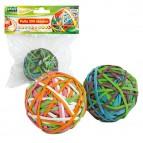 Elastici - ø 5 cm - colori assortiti - Lebez - sfera da 200 elastici