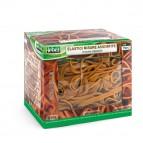 Elastici - caucciù - misure assortite - Lebez - scatola da 500 gr