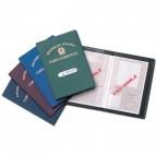Porta carta d'identità - con stampa - Alplast - conf. 24 pezzi