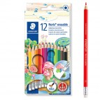 Pastelli colorati Noris cancellabile 144 50 - Staedtler - astuccio 12 matite