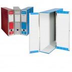 Scatola archivio Box1 - dorso 9 cm - 37,5x29,5 cm - rosso - Resisto