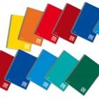 Quaderno One Color - A5 - quadretto 4mm - 60 fogli - 80gr - 4 fori - spiralato - Blasetti
