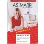 Carta laser - A3 - 170 gr - effetto lucido fronte/retro - bianco - As Marri - conf. 100 fogli