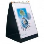 Cartella ad anelli per presentazioni Exashow Exacompta - A3 - nero - 56134E