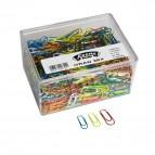 Fermagli Gran Mix 500 Leone Dell'Era - ass. metallizzato - FX500GMIX (conf.500)