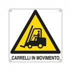Cartelli segnaletici avvertimento - E400903W