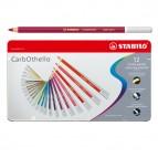 Stabilo Carb0thello Carboncino - tratto 4,40mm - scatola in metallo - Stabilo - Astuccio 12 colori